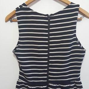 Lush Dresses - Lush Fit & Flare / Skater Dress B/W Cutout Sz L